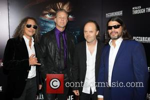 Kirk Hammett, James Hetfield, Lars Ulrich and Robert Trujillo