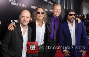 Lars Ulrich, Kirk Hammett, James Hetfield and Robert Trujillo