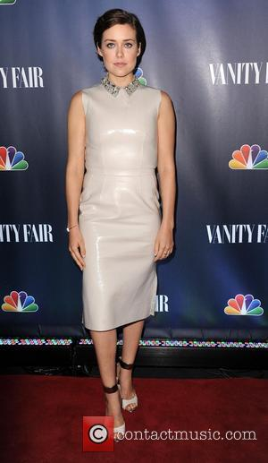Megan Boone - NBC's 2013 fall launch party hosted by Vanity Fair - Arrivals - New York, United States -...