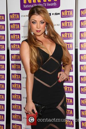 Abi Clarke - National Reality TV Awards 2013 (NRTA) held at the HMV Forum - Arrivals - London, United Kingdom...