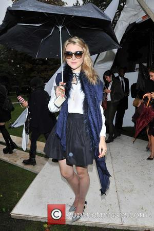 Amber Atherton - London Fashion Week SS14 - Fashion East show at TopShop Show Space - Outside Arrivals - London,...