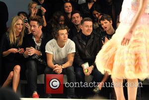Poppy Delevingne, Nick Grimshaw, Harry Styles and Pixie Geldof