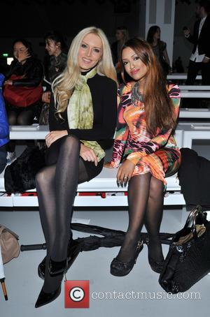 Emma Noble and Tasmin Lucia Khan - London Fashion Week SS14 -  Maria Grachvogel - Front Row - London,...
