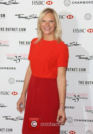 Jo Whiley - Marie Claire 25th birthday celebration featuring Icons of our Time in association with The Outnet at the...