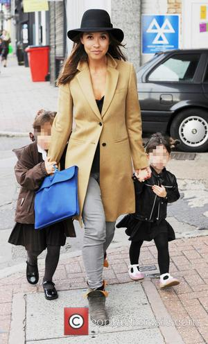 Myleene Klass, Ava and Hero