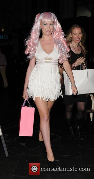 Kitty Brucknell - Celebrities at the Penthouse nightclub in Leicester Square - London, United Kingdom - Tuesday 17th September 2013