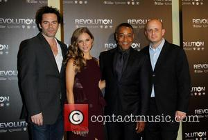 Billy Burke, Tracy Spiridakos, Giancarlo Esposito and Eric Kripke