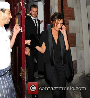 Victoria Beckham and David Beckham