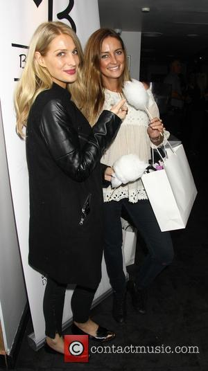 Olivia  Newman-Young and Fran Newman-Young - Bloggers Love Gifting Suite event at the Penthouse Leicester Square - London, United...