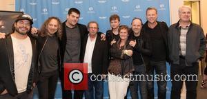 Robert Trujillo, Kirk Hammett, Nimrod Antal, Mark Fishkin, Dane Dehaan, Zoe Elton, Lars Ulrich, James Hetfield and Guest