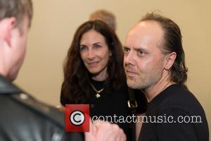 Stefanie Coyote and Lars Ulrich