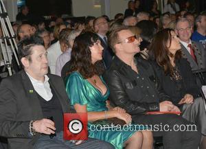 Shane Macgowan, Victoria Mary Clarke, Bono and Ali Hewson
