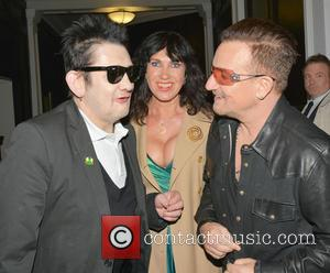 Shane Macgowan, Victoria Mary Clarke and Bono