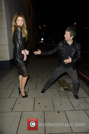 Noel Gallagher and Sara MacDonald - Pixie Geldolf celebrated her 23rd birthday with a party at China Tang within The...