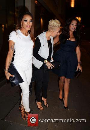 Alexandra Buggs, Karis Anderson and Courtney Rumbold of Stooshe - Big Smoke PR launch party at the Sanctum Soho Hotel...