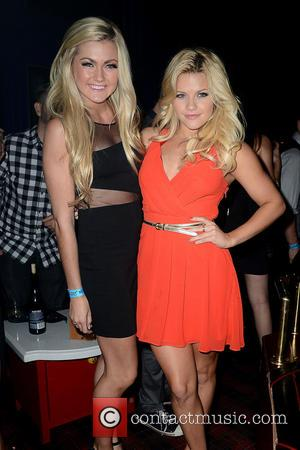 Witney Carson and Lindsay Arnold - Dancing with The Stars Premiere Party at Hooray Henrys Hosted by Cheryl Burke -...