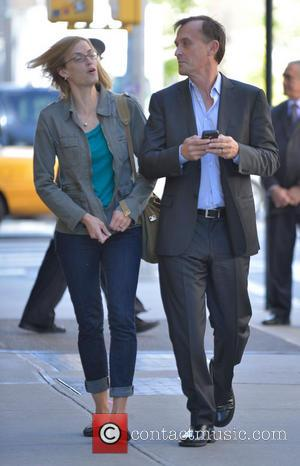 Robert Knepper - Actor Robert Knepper out and about with a female companion in Manhattan - New York City, New...