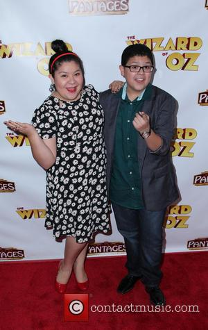 Raini Rodriguez and Rico Rodriguez - Los Angeles Opening Night of 'The Wizard Of Oz' - Arrivals - Hollywood, CA,...