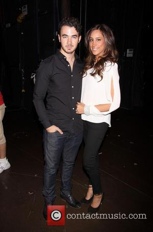 Kevin Jonas and Danielle Jonas - Kevin Jonas and his wife Danielle, who are expecting a baby girl, spent Danielle's...