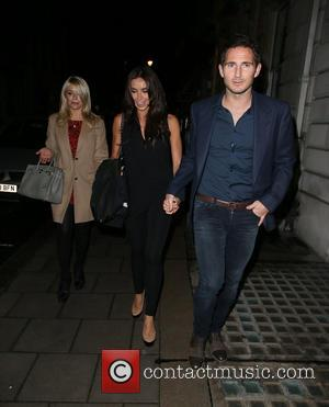Frank Lampard, Holly Willoughby and Christine Bleakley