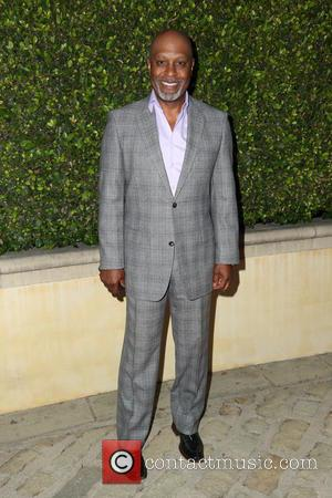 James Pickens Jr - Bobby Brown's pre-Emmy party at his home in Beverly Hills - Los Angeles, California, United States...