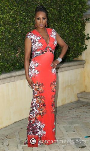 Vivica A Fox - Bobby Brown's pre-Emmy party at his home in Beverly Hills - Los Angeles, California, United States...