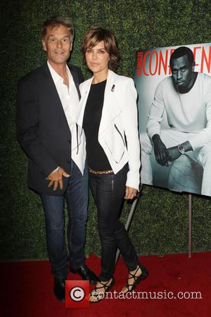 Harry Hamlin and Lisa Rinna - Los Angeles Confidential Magazine's Pre-Emmy Party Held at Mr. C Beverly Hills - Beverly...