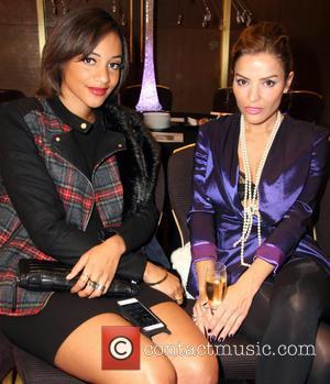 Amal Fashanu and Elen Revas