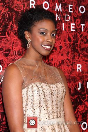 Condola Rashad - Opening night of Broadway's Romeo and Juliet at the Richard Rodgers Theatre - Arrivals - New York,...