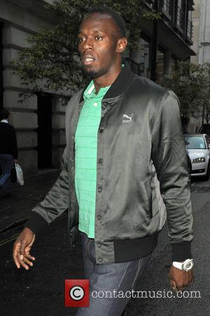 Usain Bolt - Usain Bolt out and about in Central London - London, United Kingdom - Thursday 19th September 2013