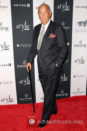 Oscar de la Renta - 2013 Icons Of Style Gala - Red Carpet Arrivals at Mandarin Oriental Hotel - Manhattan,...