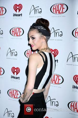 Cher Lloyd - CHER LLOYD Hosts The Evening At Haze Nightclub Inside Aria Hotel and Casino In Las Vegas, NV...