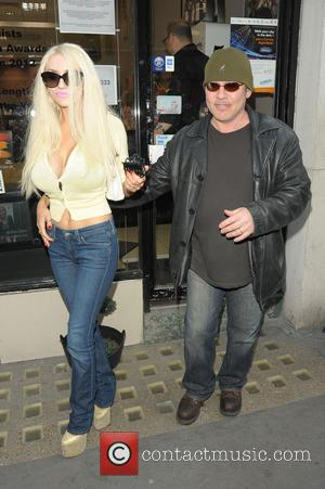 Doug Hutchinson and Courtney Stodden - Courtney Stodden and Doug Hutchinson out and about in London - London, United Kingdom...