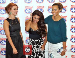 Una Healy, Rochelle Humes and Vanessa White - Una Healy, Vanessa White and Rochelle Humes of The Saturdays visit the...