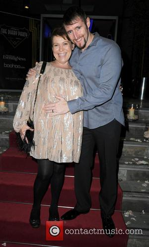Tina Malone and Paul Chase - The Manchester Evening News Diary Party at The Lowry Hotel - Manchester, United Kingdom...