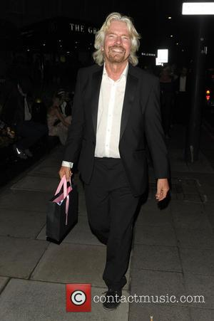 Richard Branson - Boodles Boxing Ball 2013 held at Grosvenor House - Arrivals - London, United Kingdom - Saturday 21st...
