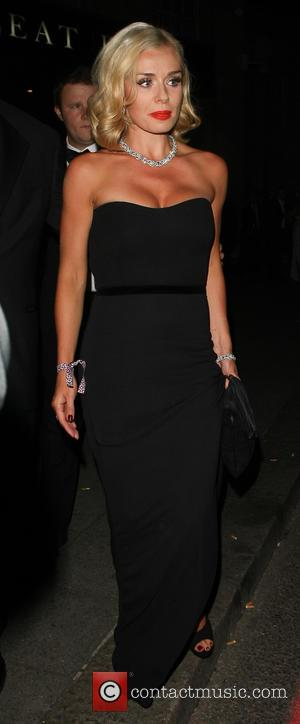 Katherine Jenkins - Boodles Boxing Ball 2013 held at Grosvenor House - Departures - London, United Kingdom - Saturday 21st...
