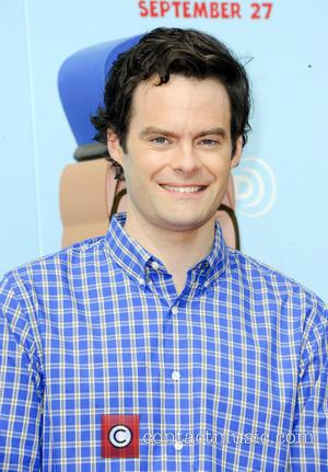 Bill Hader - Los Angeles premiere of 'Cloudy With A Chance Of Meatballs 2' at Regency Village Theatre - Arrivals...