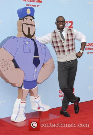 Terry Crews - Los Angeles premiere of 'Cloudy With A Chance Of Meatballs 2' at Regency Village Theatre - Arrivals...