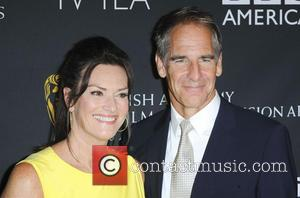 Scott Bakula and Chelsea Field - BAFTA Los Angeles TV Tea 2013, presented by BBC America & Audi held at...