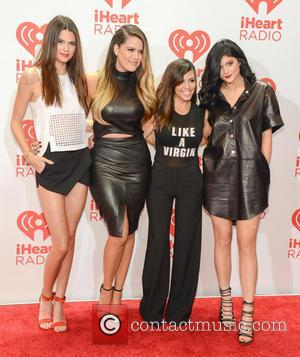Kendall Jenner, Khloe Kardashian, Kourtney Kardashinan and Kylie Jenner - iHeartRadio Music Festival - Las Vegas, NV, United States -...