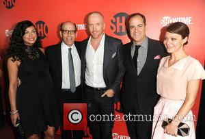 Morena Baccarin, Matthey C. Blank, Damian Lewis and Helen McCrory