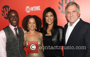 Don Cheadle and Julie Chen