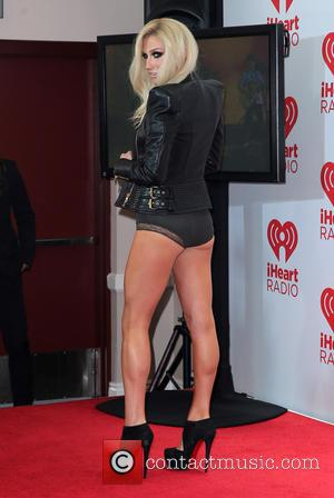 Kesha - IHeartRadio Music Festival at MGM Grand Garden Arena Las Vegas - Las Vegas, Nevada, United States - Sunday...