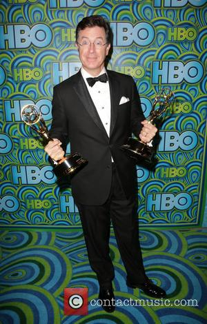Stephen Colbert - HBO's Annual Primetime Emmy Awards Post Award Reception at The Plaza at the Pacific Design Center -...