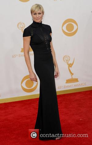 Robin Wright - 65th Annual Primetime Emmy Awards held at Nokia Theatre L.A. Live - Arrivals - Los Angeles, California,...