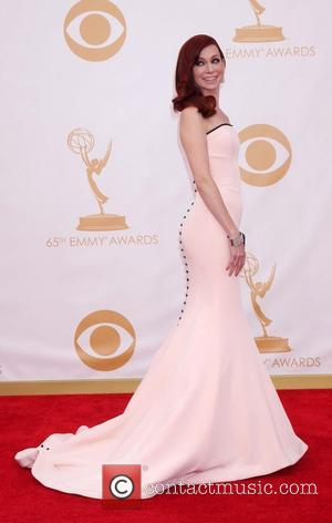 Carrie Preston - 65th Annual Primetime Emmy Awards held at Nokia Theatre L.A. Live - Los Angeles, CA, United States...