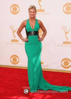 Nancy O'Dell - 65th Annual Primetime Emmy Awards held at the Nokia Theatre L.A. Live in Los Angeles, California 22/9/2013...