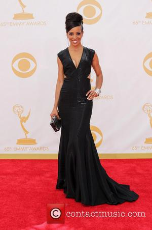 Shaun Robinson - 65th Annual Primetime Emmy Awards held at Nokia Theatre L.A. Live - Los Angeles, California, United States...