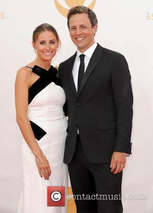 Alexi Ashe and Seth Meyer